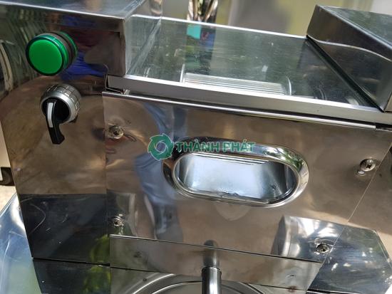 Xe nước mía liền bàn mini 3 Lô Ép 2 Cây 6 bạc đạn không kính