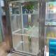 Xe nước mía truyền thống 2 Lô Có tủ kính